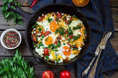 recette Chakchouka tunisienne traditionnelle-1
