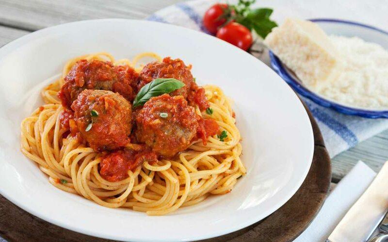 spaghetti a l'italienne
