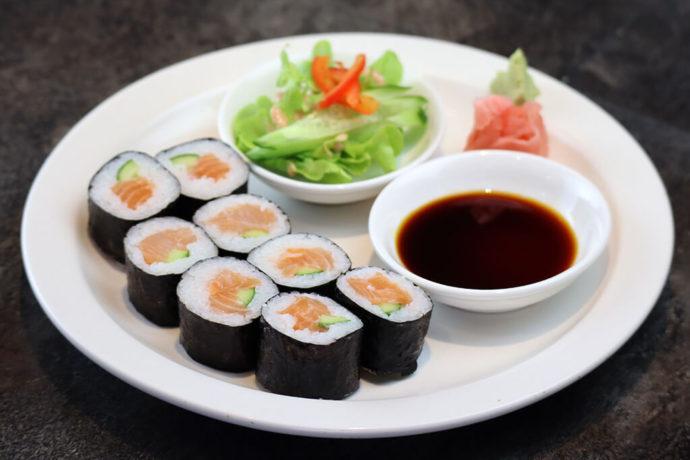Rouleaux de sushi maki - %idee recette%