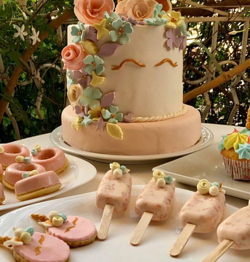 Gâteau anniversaire licorne - %idee recette%